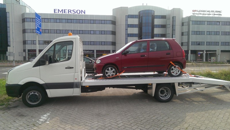 auto ambulance op locatie
